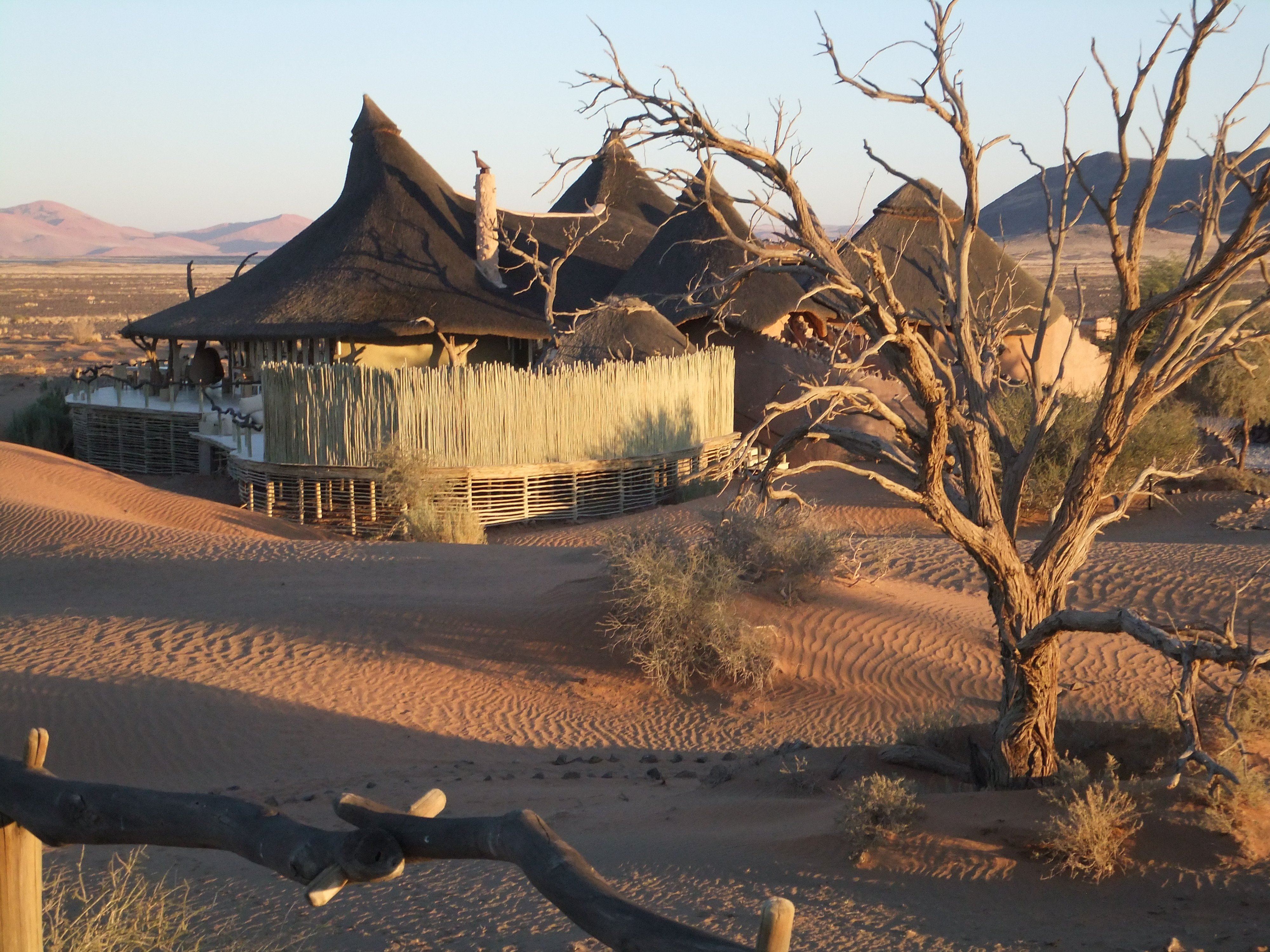 Camp in Namibia