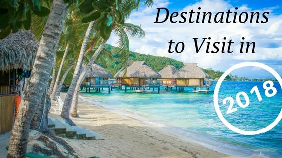 2018 Destinations Visit New Year