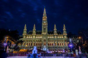 Vienna Christmas Danube